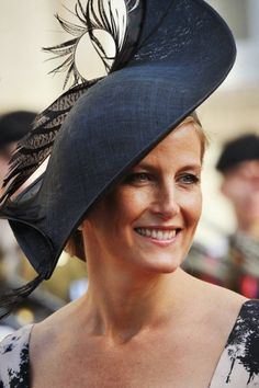 Countess Sophie of Wessex Photos Photos: The Wedding Of Prince Guillaume Of Luxembourg & Stephanie de Lannoy - Official Ceremony Lady Louise Windsor, Countess Wessex, Isabel Ii, British Royal Families, Fancy Hats, Love Hat, Glamour, Duchess Kate, Royals