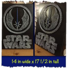 Custom Made STAR WARS String Art by UniquelyWound on Etsy