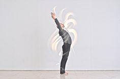 Wutao Calligraphie lumineuse Arnaud Mattlinger