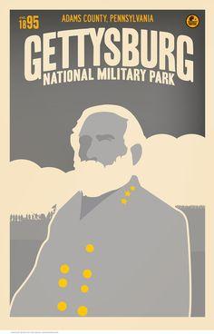Gettysburg National Military Park, General Lee by Matt Brass