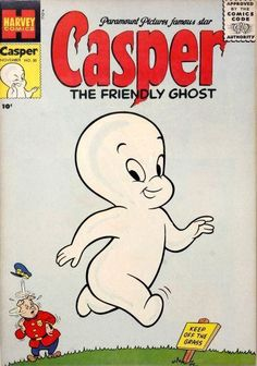 Casper the Friendly Ghost 1952 Series Harvey 50 VG 4 0 Childhood Characters, Cartoon Characters, Vintage Comics, Vintage Books, Casper The Friendly Ghost, Star Comics, Old Shows, Kids Tv, The Good Old Days