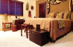 african bedroom designs | apartmentf15: decorating with african masks-2