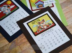 3x4 Calendar 2016 by Shelly Mercado