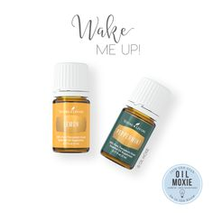 I like diffusing this oily combo (3 drops each) in the morning because it helps wake me up. I also like to add a drop of Lemon and a drop of Peppermint to my diffuser necklace! :)