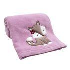 Lambs & Ivy Lavender Woods Blanket