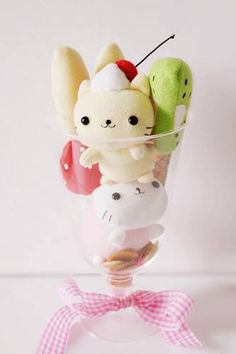 ❤Kawaii Love❤ ~Kawaii Cute Cat Dessert