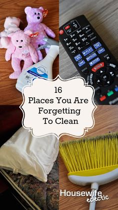 Housewife Eclectic: 16 places you are forgetting to clean and a Swiffer/Febreze Giveaway. #SwifferEffect #BreatheHappy