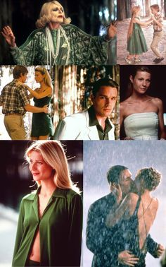 great expectations - lots of green   LOVE this film and love all the green