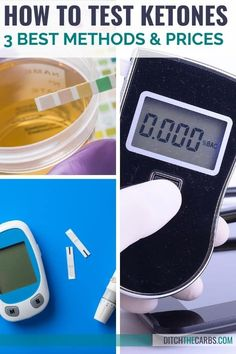 Discover the 3 best ways to test ketones PLUS which ketone test is best for YOU? Which is the cheapest ketone test? How do you want to know if you have reached nutritional ketosis? Which test is the most accurate? #ditchthecarbs #ketonetesting #ketosis #keto Ketogenic Lifestyle, Ketogenic Diet, Keto Breath, Ditch The Carbs, Water Weight, No Sugar Foods, 3 Things, Cooking Timer, Nutrition