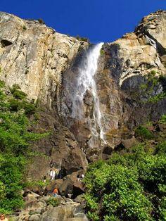 Bridalveil Fall, Yosemite Valley, California, USA