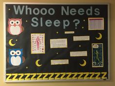 Sleep awareness Ra bulletin board