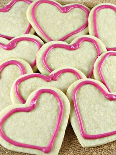 Valentine's Day Sugar Cookies - Do It All Working Mom