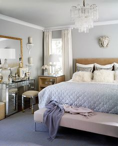 blue gray wall with cream frame - Google Search