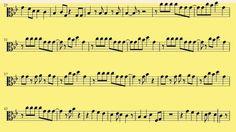 [ Viola ]   Applause - Download Sheet Music - Lady Gaga Download Sheet Music, Free Sheet Music, Lady Gaga Applause, Trombone