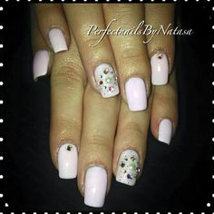 Perfect nails glam chic