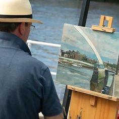 Andrew Hird Fine Art (@andrew.hird) • Instagram photos and videos Sky Art, Fine Art, Photo And Video, Landscape, Videos, Artist, Photos, Instagram, Scenery