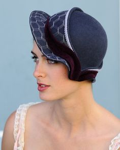 All this site's hats are so fabulous I can hardly stand it.  Now if I only really wore hats....