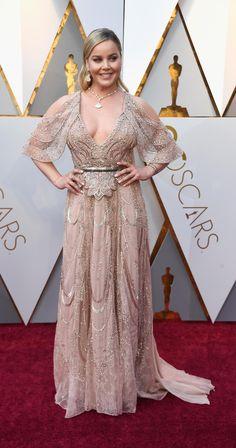 Abby Cornish in Elie Saab - Oscars 2018 Abbie Cornish, Red Carpets, Oscars, Elie Saab, Formal Dresses, Fashion, Red Rugs, Dresses For Formal, Moda