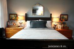 master bedroom at JosieJones
