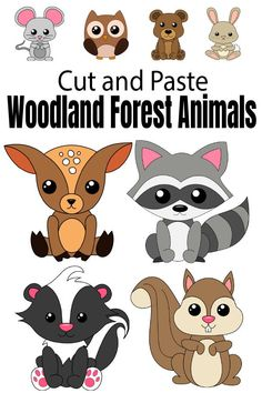 I'm really excited to share fun and fall festive themed animals just in time for this fall. These animals are a really fun day to spend some quality time coloring and building with your kids. This entire set is perfect for making wonderful fall memories together. The best part is that they're easy enough for toddlers and preschoolers, yet even older kids will have fun building animals together. With that in mind, here's what I've included in this printable craft […] Forest Animal Crafts, Animal Crafts For Kids, Fall Crafts For Kids, Forest Animals, Woodland Animals, Crafts To Do, Autumn Crafts, Paper Crafts, Easy Preschool Crafts