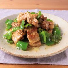 ピーマンと厚切り豚バラ肉のわさび醤油炒め 作り方・レシピ   クラシル