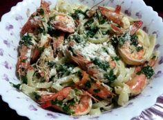 Drunken Shrimp Pasta recipe #pastarecipe #seafoodpasta #shrimppasta #shrimpscampirecipe