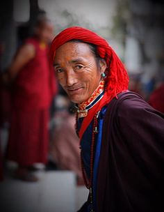 Dolpo Man At Kathmandu Nepal