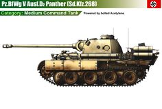 Befehlspanther Ausf.D (Sd.Kfz.268) powered by Actetylene