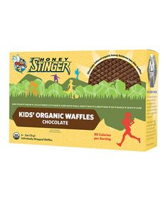 Love this Kids' Organic Chocolate Waffle - Set of Four on #zulily! #zulilyfinds