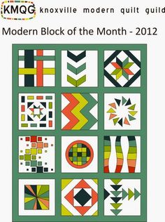 TYLER MODERN QUILT GROUP will be sharing the creation of this quilt for our very first group block of the month project! A BIG thank you to the Knoxville Modern Quilt Guild: KMQG BOM 2012