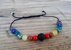 Chakra diffuser bracelet seven chakra healing от HarmonyLifeShop