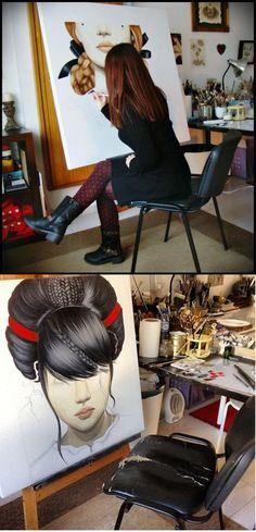 Duma Arantes    #artist  #artistatwork  #studio