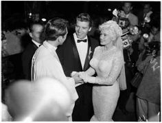 Mickey Hargitay and Jayne Mansfield, January 13, 1958.