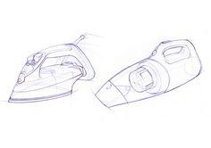 I.D. Sketching & Marker Rendering by Begum Tomruk, via Behance.