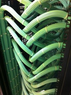 Neatest rack cabling I have ever seen. I'm inspired to clean our rack closet