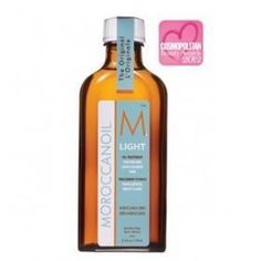 Moroccanoil Light Treatment - idea for fine, and light hair so probably a more ideal product - apply to damp hair before blow drying then after when dry for extra hydrating and tame frizz. $55