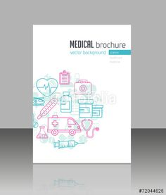 Vector: Medical Brochure think this makes for an interesting cover for the manual -- clean and simple