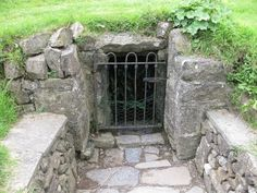 The sacred Well of Tara in Ireland. A really cool place!