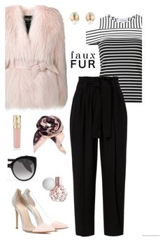 """Untitled #408"" by maylamartha ❤ liked on Polyvore featuring 10 Crosby Derek Lam, Gianvito Rossi, A.L.C., Balmain, White Label, Alexander McQueen, Christian Dior and Smith & Cult"