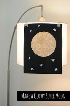 Easy Moon art project for kids • Artchoo.com