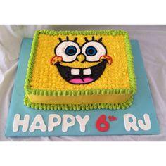 Boy Cakes, Cakes For Boys, Boy Birthday, Birthday Parties, Birthday Cake, Sponge Bob Cake, Cake Accessories, Cake Shapes, Cake Decorating Techniques