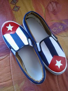 náuticas de hombre con bandera de cuba, a pedido