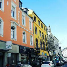 #vibrantcolors #streets of #frankfurt #germany Frankfurt Germany, Vibrant Colors, Times Square, Travel, Voyage, Viajes, Traveling, Trips, Tourism