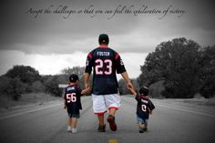 We Love our Football Houston Texans Style!