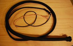 Paracord Bullwhip | Easy DIY paracord projects for preppers at survivallife.com #paracord #diy #survivalist