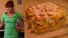 Wiosenne ciasto rabarbarowe [KuchniaRenaty]