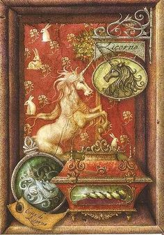 There's a story in this image - I can just feel it. Real Unicorn, The Last Unicorn, Unicorn Horse, Unicorn Art, Magical Unicorn, Rainbow Unicorn, Éphémères Vintage, Vintage Prints, Medieval Tapestry