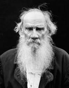 Leo Tolstoy- my favorite picture of him i've seen.