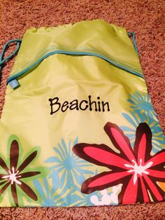 Cinch Sac ($20). Perfect for toting your swim suit, sun lotions, towels, etc. around. Also great to put your wet swim suits in! Shop at: www.mythirtyone.com/shopwithlisab