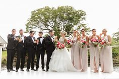 Wedding bouquets featuring coral peonieshttp://www.mondofloraldesigns.com.au/maleny-manor-style-katie-reece/